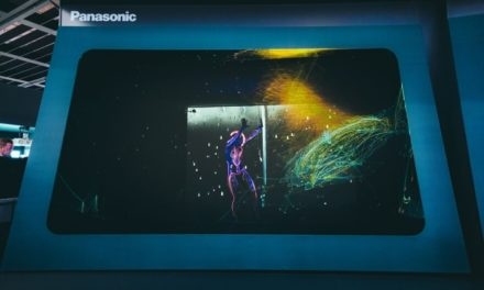 "Painting with Light makes ""Senses' for Panasonic at ISE"