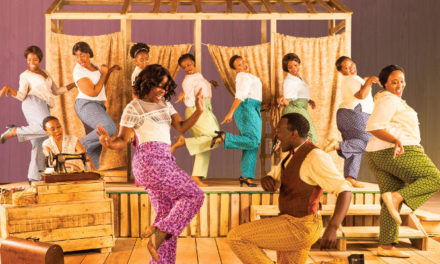 The Color Purple for women's month at Joburg Theatre
