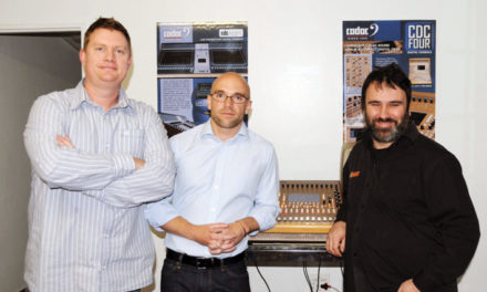 Sound Harmonics gets Cadac