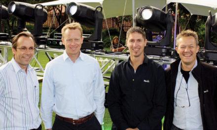Martin Professional CEO visits SA