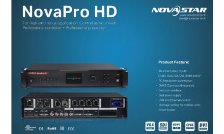 "NovaPro HD for rental or stage integration applications<br><h3 style=""color: #c41230;"">Sponsored News</h3>"