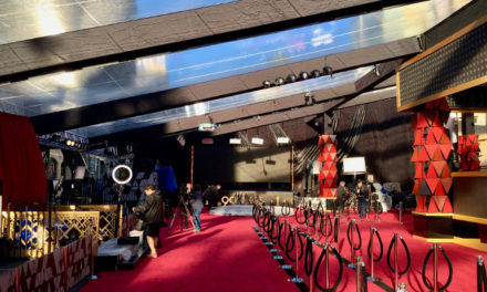 Claypaky K-EYE K20s make their live red carpet debut on Oscars pre-show for ABC-TV