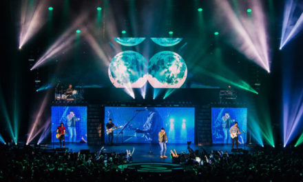 "Claypaky Scenius Unico and Mythos2 fixtures join Cole Swindell on national ""Reason to Drink Tour"""