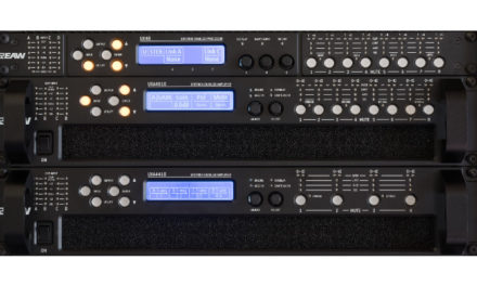 EAW UX amplifiers make US debut at InfoComm
