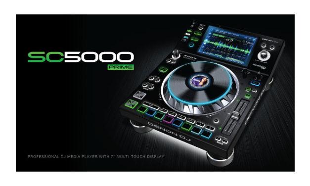 Denon DJ® premieres new V1.2 update for SC5000
