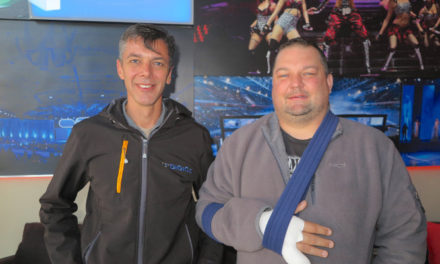 SOS Charity Fund stands with Vincent Joubert