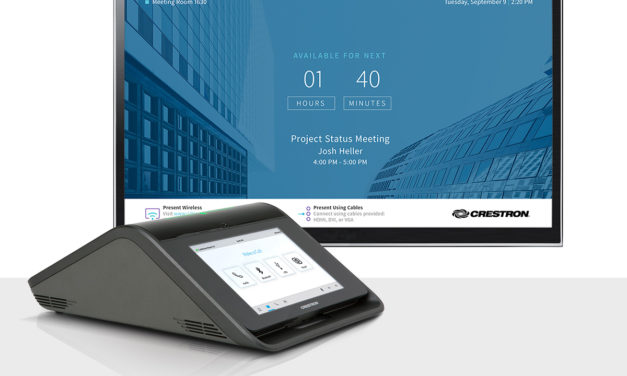 Crestron showcases a number of innovations at InfoComm
