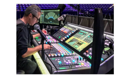 SSL Live wins praise from Lorde tour