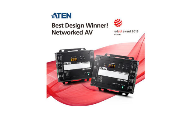 ATEN 4K video over IP extender awarded