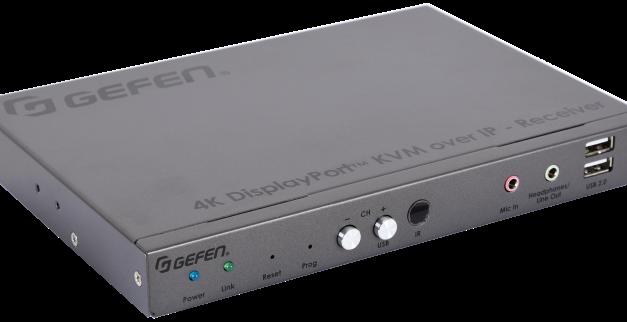 Nortek Security & Control  now shipping Gefen 4K DisplayPort KVM Over IP Receiver