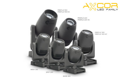 Claypaky adds to AXCOR LED Series