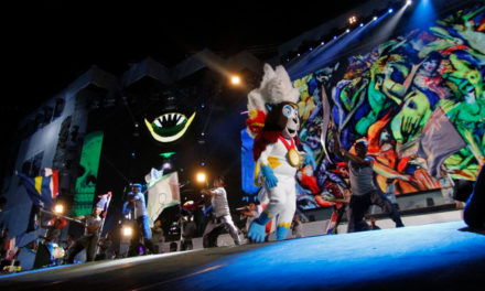 Avolites Ai RX8 servers drive large-scale projections and LED at Central American and Caribbean Games
