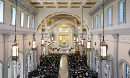 A Danley Jericho Horn conveys heavenly music in the new Knoxville Sacred Heart Cathedral