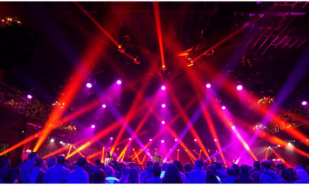 Elation lights AT&T Audience Network Music Concerts