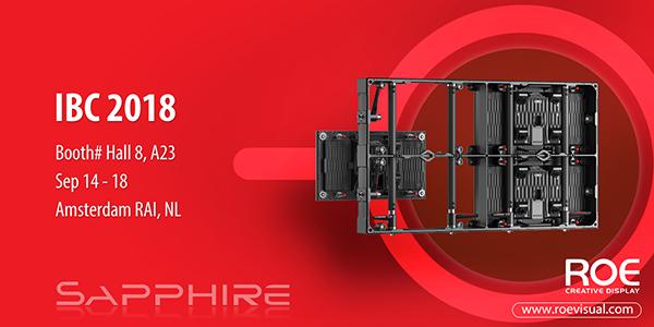 Roe Visual launch of Sapphire Platform