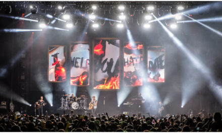 Avolites Ai Q3 fires up visuals for Sunrise Avenue's Festivals Tour