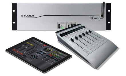 HARMAN Professional Solutions' Studer Micro Series V2.0 Software