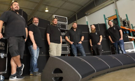 L-Acoustics working hard for Sound Stylists
