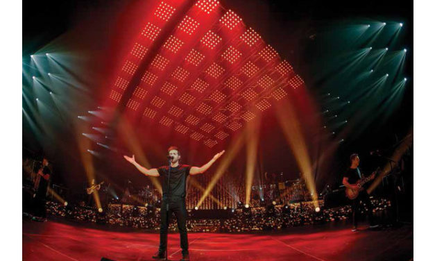 CHAUVET Professional adds impact to Pablo Alborán tour