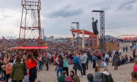 d&b GSL boosts beach sound possibilities at Oranjebloesem Festival