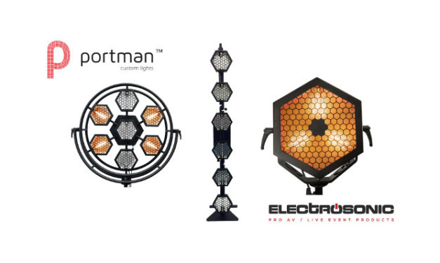 Electrosonic distributes Portman custom lights in South Africa