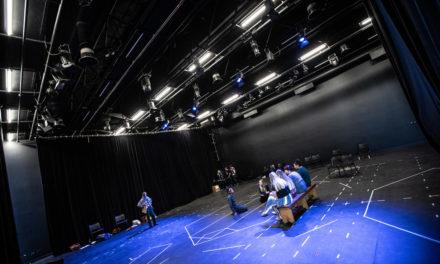 New lights shine on the HB Thom Theatre
