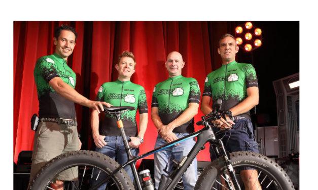 Green Hippos, mountain bikes and mountains