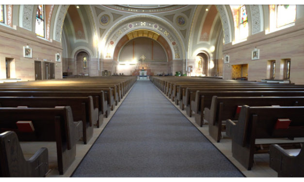 ICONYX the clear solution at Church of St. Charles Borromeo