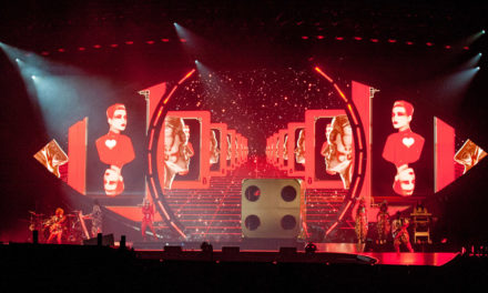 Staging Extravaganza with Katy Perry