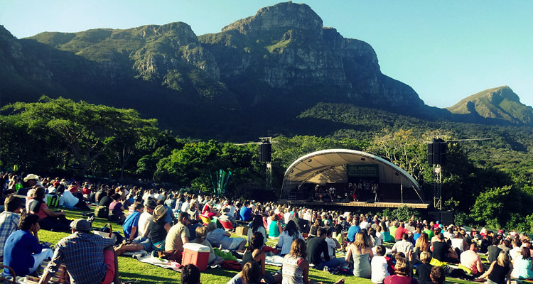 Meyer Sound for the Kirstenbosch Botanical Gardens Summer Sunset Series