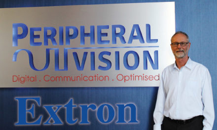 Peripheral Vision appointed as an Extron Accredited Value Add Reseller