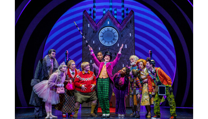BlackTrax preserves the magic of Charlie and the Chocolate Factory