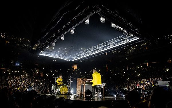 "Meyer Sound soars with Twenty One Pilots on ""Bandito Tour"""