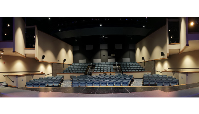 Symetrix always performs at Lakeshore Players Theatre