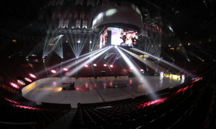 Claypaky enhances the game experience at the Bell Centre
