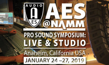 AES@NAMM 2019 expanded program and registration options revealed