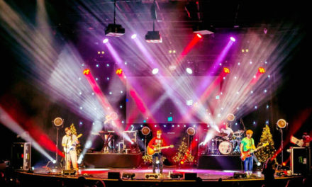 Decade The Halls Tour Through Time chimes with CHAUVET Professional