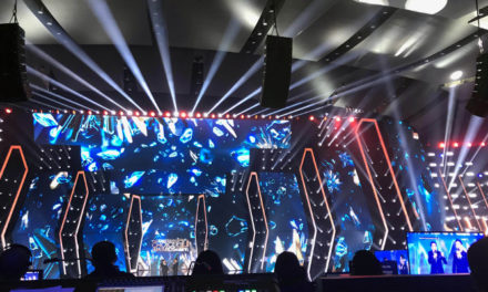 Clair Brothers at the Indonesian Choice Awards