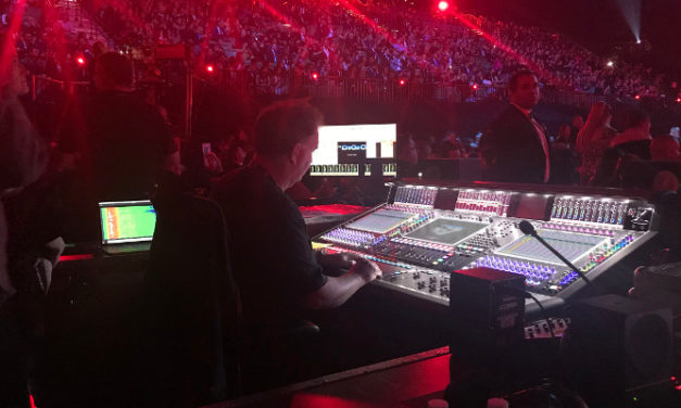 DiGiCo for Latin GRAMMY Awards
