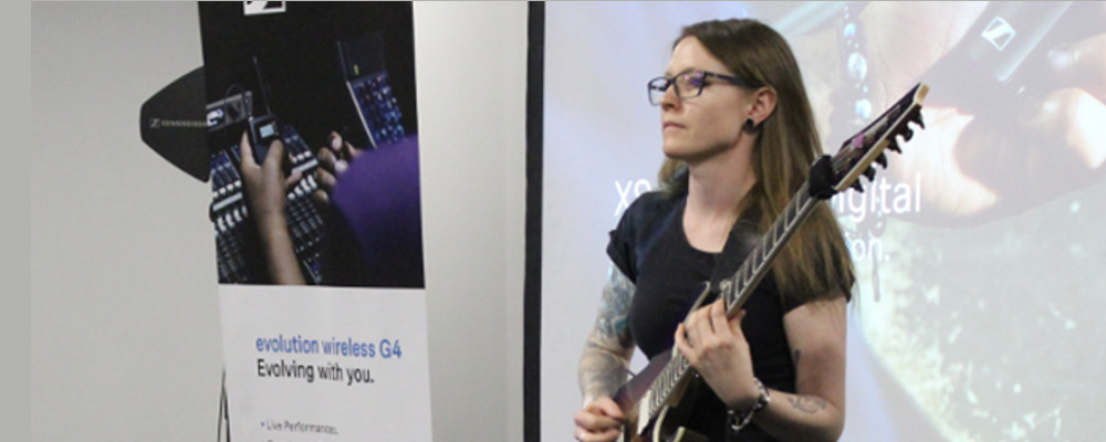 SENNHEISER TECHNOLOGY DAY SHEDS LIGHT ON WIRELESS MICROPHONE SYSTEMS
