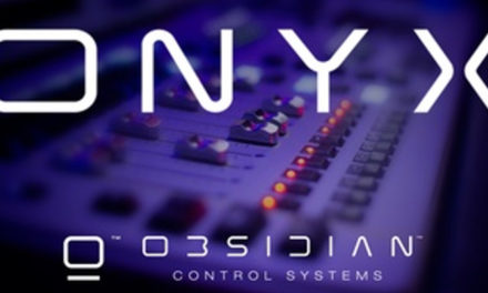 OBSIDIAN CONTROL SYSTEMS AND CAPTURE VISUALISATION PARTNER ON ONYX