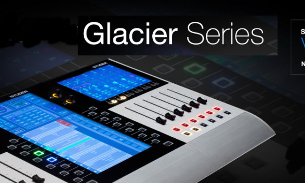STUDER GLACIER SERIES V1.1 SOFTWARE