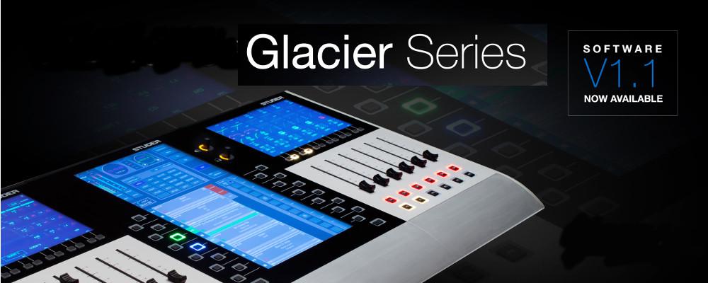 STUDER GLACIER SERIES V1.1 SOFTWARE