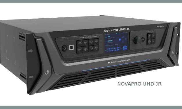 NOVASTAR LAUNCHES THE NEW NOVAPRO UHD JR