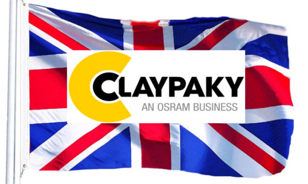 CLAYPAKY GOES FOR DIRECT SALES IN THE UK
