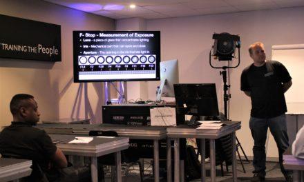 DWR DISTRIBUTION HOSTS ENGAGING STUDIO LIGHTING WORKSHOP