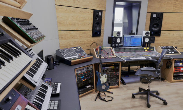 OX4 STUDIO RIDES THE FADERS ON NEW SSL AWS 948 CONSOLE