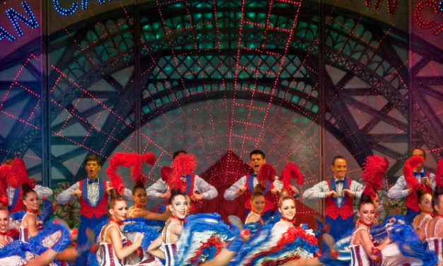 ROBERT JULIAT'S ALICE DANCES AT PARIS' MOULIN ROUGE
