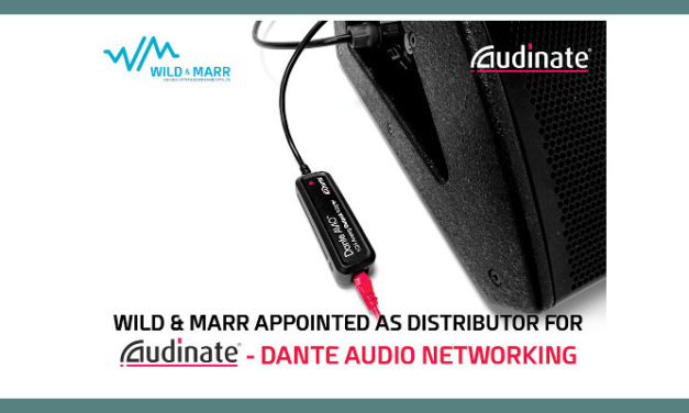 AUDINATE JOINS THE WILD & MARR STABLE