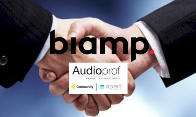 BIAMP ANNOUNCES ACQUISITION OF COMMUNITY LOUDSPEAKERS AND APART AUDIO